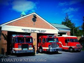 Station 2 Located at 794 Locksley Road  Pictured L-R are Engine 272, Rescue 16 and Rescue 55