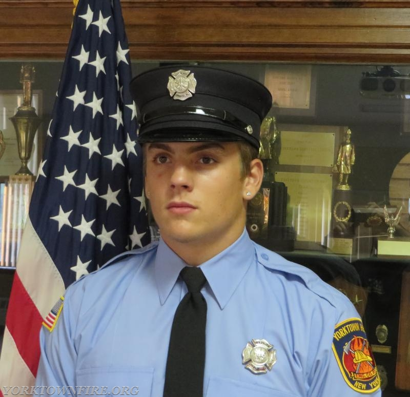 Junior Corps member Blake T. Fahey