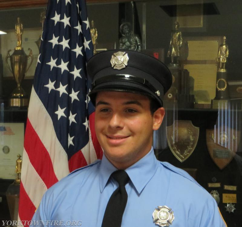 Junior Corps member Giuseppe Passalacqua