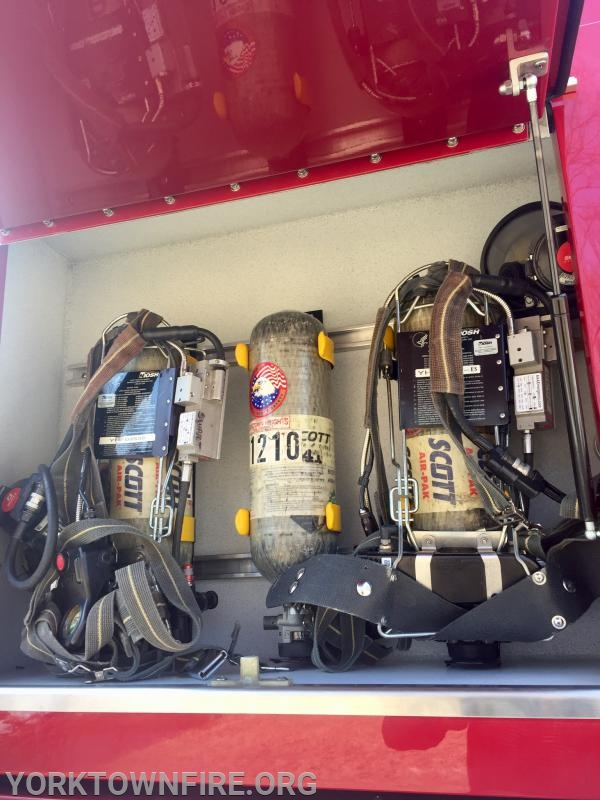 Added SCBA compartment